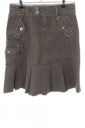 edc by Esprit Plaid Skirt bronze-colored street-fashion look