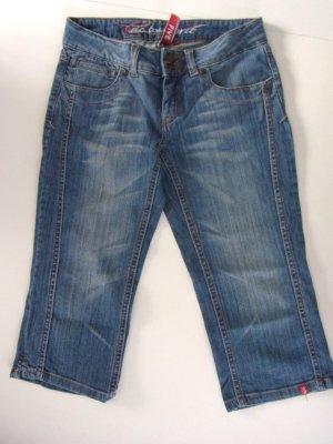 edc by Esprit FIVE Jeans Capri Gr. 36 Hellere sommerliche Waschung