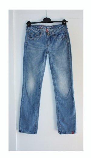 edc by Esprit Low Rise Jeans blue cotton
