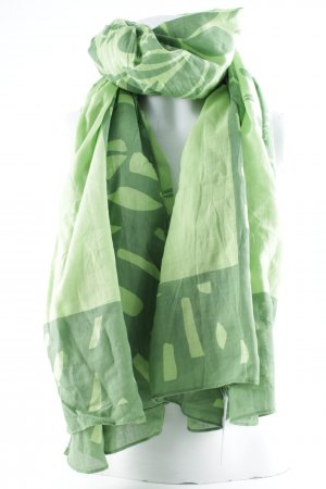 edc by Esprit Neckerchief green-meadow green floral pattern casual look