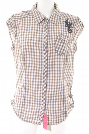 edc by Esprit Hemd-Bluse Karomuster Casual-Look
