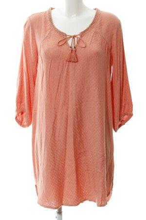 edc by Esprit Robe chemise saumon motif abstrait style bohème