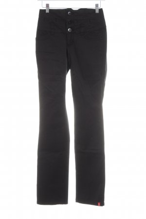 edc by Esprit High-Waist Hose schwarz Casual-Look