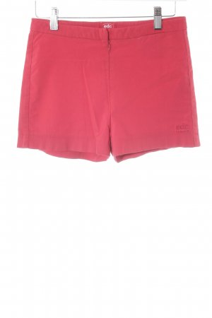 edc by Esprit High-Waist-Shorts rot Casual-Look