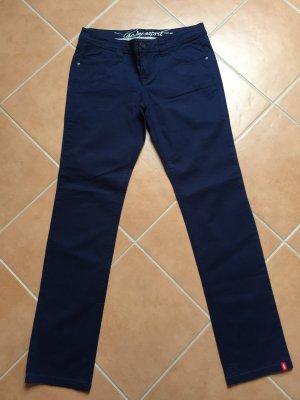 edc by Esprit Pantalón de cinco bolsillos azul oscuro Algodón