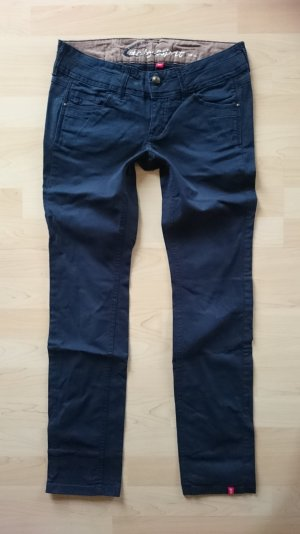 "Edc by Esprit Hose Gr 38 Short "" Five "" Slim Blau"