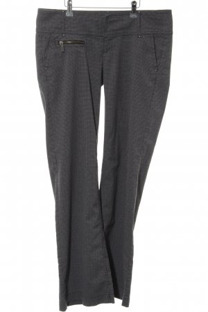 edc by Esprit Low-Rise Trousers light grey-black casual look