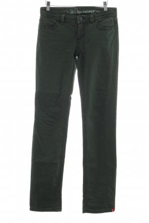 edc by Esprit Low Rise jeans groen casual uitstraling