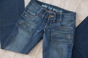 edc by Esprit Jeans boyfriend bleu foncé coton