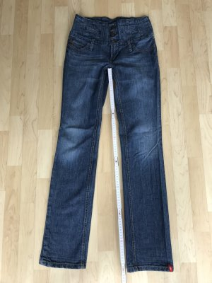 edc by esprit Jeans, High Waist, Straight-Leg, regular fit, Size 27 / XS / 34