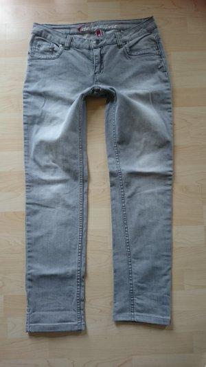 Edc by Esprit Jeans Hose Five Grau gr 42 (inch 32)