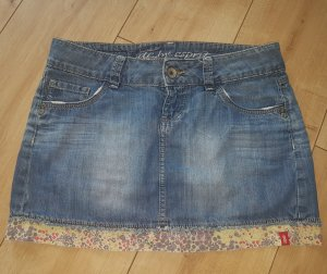 edc by esprit Jeans Rock Vintage Blue Jeans Cowgirl Authentic Denim Washed XS/S 34/36