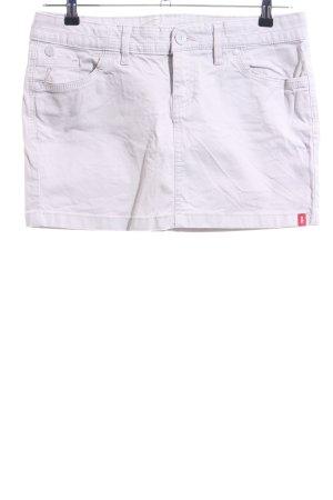 edc by Esprit Jupe en jeans blanc style décontracté