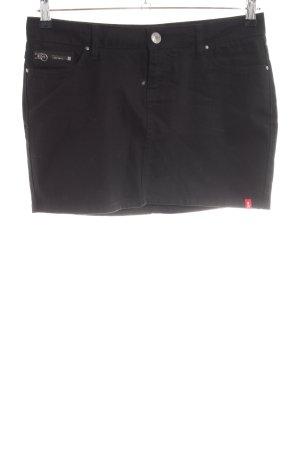 edc by Esprit Jupe en jeans noir style décontracté