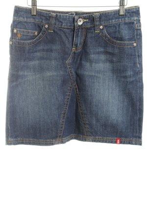 edc by Esprit Denim Skirt dark blue jeans look