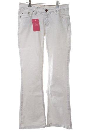 edc by Esprit Jeans a zampa d'elefante bianco stile casual