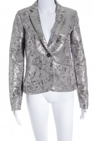 edc by Esprit Jerseyblazer silberfarben-hellgrau Party-Look