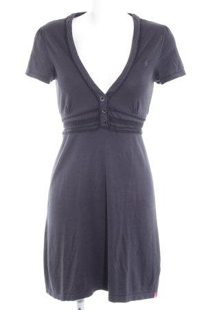 edc by Esprit Jerseyjurk donkerblauw romantische stijl