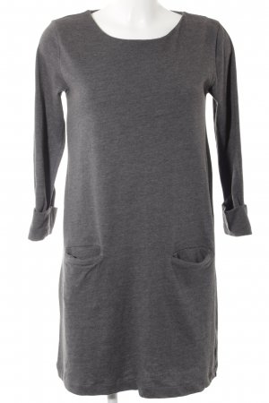 edc by Esprit Vestido de tela de jersey gris oscuro moteado look casual