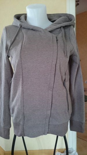 Edc Esprit Sweat Jacket grey brown