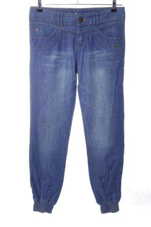 edc by Esprit Jeans carotte bleu style décontracté