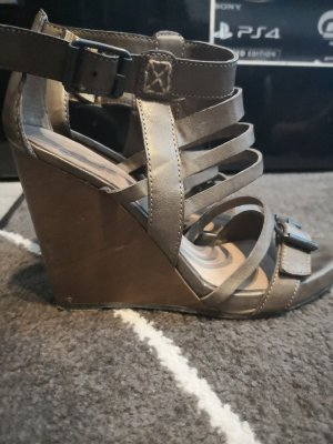 edc by Esprit High-Heeled Sandals bronze-colored