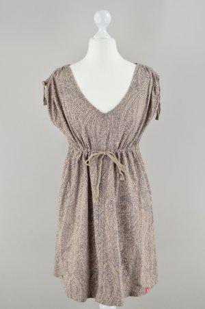 Edc by Esprit Kleid mit Muster braun Größe S