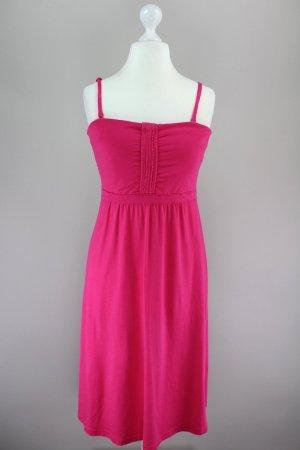 Edc by Esprit Kleid Sommerkleid pink Größe L 1708540130497
