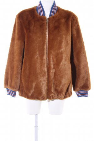 edc by Esprit Fake Fur Jacket multicolored casual look