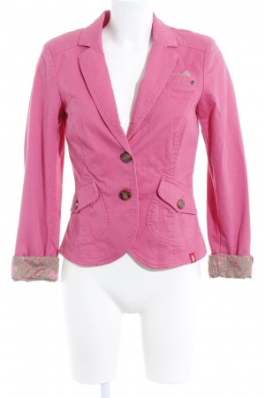 edc by Esprit Kurz-Blazer pink Casual-Look