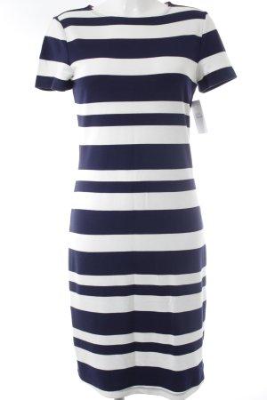 edc by Esprit Jurk met korte mouwen donkerblauw-wit gestreept patroon