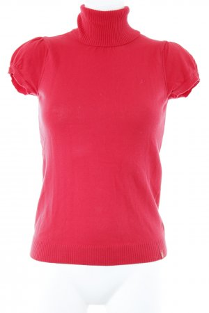 edc by Esprit Short Sleeve Sweater red romantic style