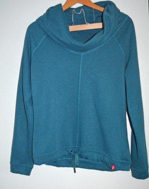 EDC by ESPRIT Kuschel Sweater Sweatshirt Petrol Sz S wie 36