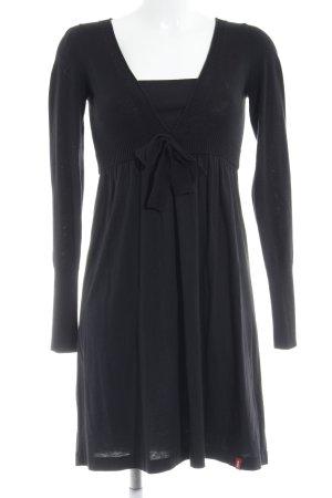 edc by Esprit Langarmkleid schwarz minimalistischer Stil