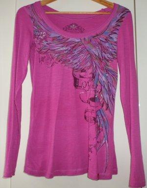 edc by Esprit - Langarmshirt - pink Größe 36/38