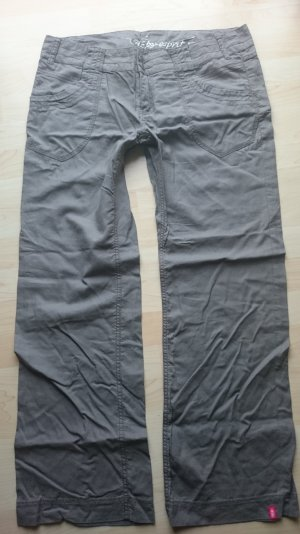 Edc by Esprit Leinen Hose Model Play Gr 42 taupe