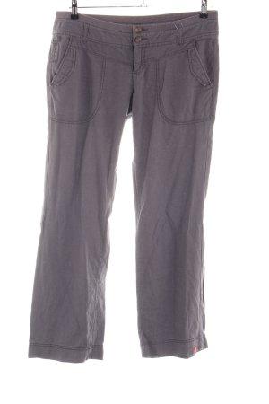 edc by Esprit Linen Pants light grey flecked casual look