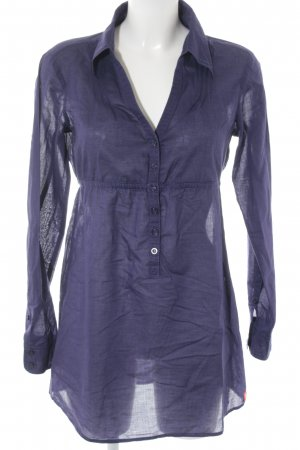 edc by Esprit Long-Bluse blau Casual-Look