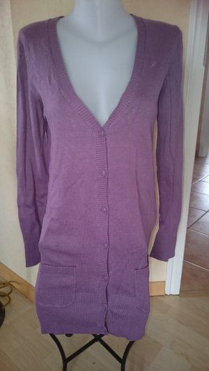 Edc by Esprit long Strickjacke Gr M lila
