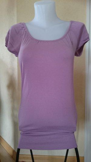 Edc by Esprit Longshirt Gr M T-Shirt Altrosa