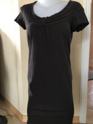 Edc by Esprit Longshirt T-Shirt Kleid Gr M Braun