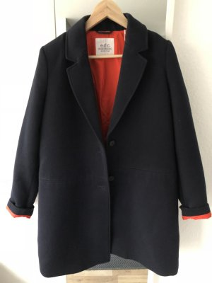 edc by Esprit Overgangsjas donkerblauw-rood Polyester