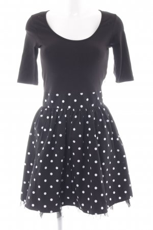edc by Esprit Petticoat Dress black-white spot pattern casual look