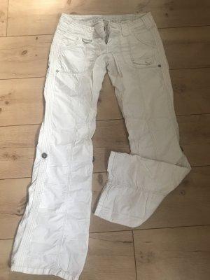 edc by Esprit Pantalone cargo bianco