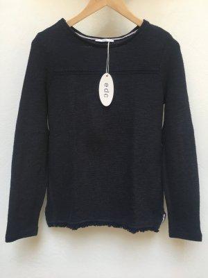 EDC by Esprit - Pullover mit Tassel-Saum (NP 45,99 EUR)