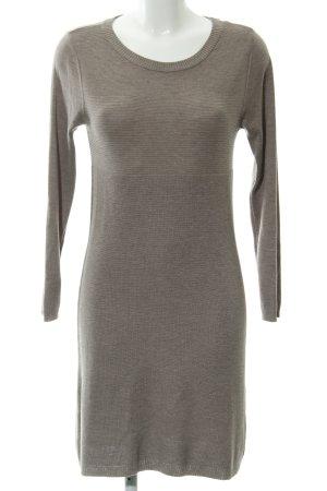 edc by Esprit Abito maglione marrone-grigio stile casual