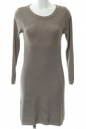 edc by Esprit Sweaterjurk grijs-bruin casual uitstraling