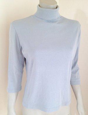 EDC by ESPRIT Rollkragenshirt Unterziehshirt Basic-Shirt 3/4 Arm, L, hellblau