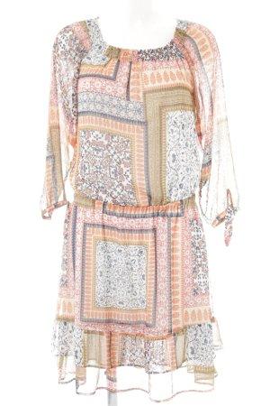 edc by Esprit schulterfreies Kleid Blumenmuster Boho-Look