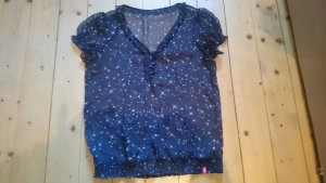 edc by Esprit shirt blau Sterne Gr. M